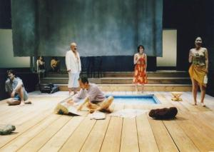 PaulAlternative Gross und Klein, Haiyuza Theatre, Tokio, 2000 photo Peter de Kimpe Kimpe