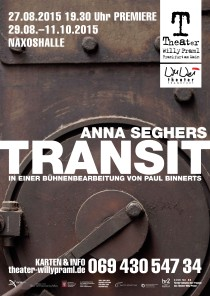 Theater Willy Praml_WuWei_TRANSIT_Paul Binnerts_Plakat